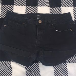 Black shorts from F21